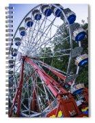 Wheel At The Fair Spiral Notebook