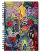 Wheel Of Holy Fire Spiral Notebook