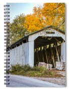 Wheeling Covered Bridge Spiral Notebook