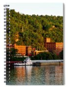 Wheeling Island Spiral Notebook