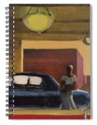 Wheels In The City Spiral Notebook