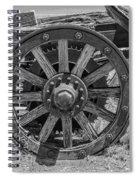 Wheels Of Time Spiral Notebook