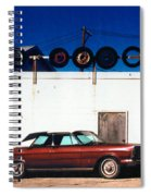 Wheels Spiral Notebook