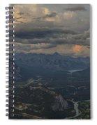 When In Banff Canada Spiral Notebook