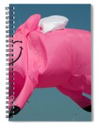 When Pigs Fly Spiral Notebook