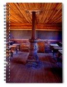 When School Was In 1-room Spiral Notebook