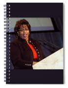When She Was A Speaker Spiral Notebook