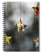 When Stars Melt Down Spiral Notebook