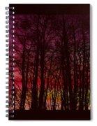 When The Deep Purple Falls Spiral Notebook