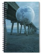 Waning Moon Spiral Notebook