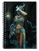 When The Night Begins Spiral Notebook