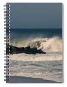 When The Ocean Speaks - Jersey Shore Spiral Notebook