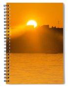 When The Sun Sets Spiral Notebook