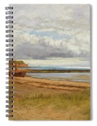 When The Tide Is Low  Maer Rocks, Exmouth, Spiral Notebook