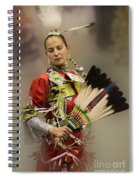 Pow Wow Where Are You Now Spiral Notebook
