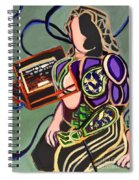 Where Does It End? Spiral Notebook