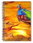 Dragons Valley Spiral Notebook