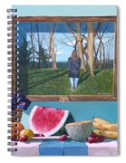 Where Fruit Of Life Lies Within Spiral Notebook