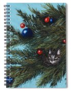 Where Is Santa Spiral Notebook