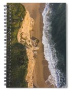 Where Land Meets The Sea Spiral Notebook