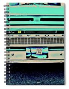Where Route 66 Meets Chisholm Trail Spiral Notebook