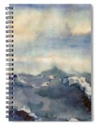 Where Sky Meets Ocean Spiral Notebook