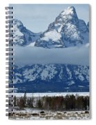 Where The Buffalo Roam Spiral Notebook