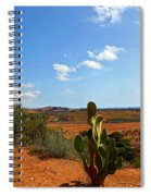 Where The Cactus Grow Spiral Notebook