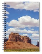 Where The Earth Meets The Sky Spiral Notebook