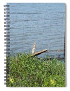 Where The Fence Ends Spiral Notebook