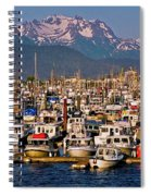 Where The Land Ends ... Spiral Notebook