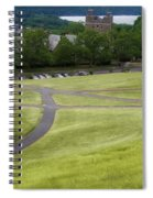 Where The Paths Cross Cornell University Ithaca New York Spiral Notebook