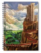 Where The Red Brick Road Leads Spiral Notebook