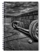 Where The Roads End... Spiral Notebook