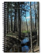 Where The White Tail Deer Run Spiral Notebook