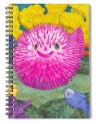 Where's Pinkfish Spiral Notebook