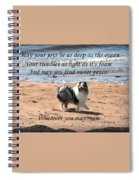 Wherever You May Roam Spiral Notebook