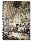 Whig Party Parade, 1840 Spiral Notebook