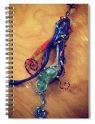 Whimsey Spiral Notebook