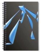 Whimsical Boy Spiral Notebook