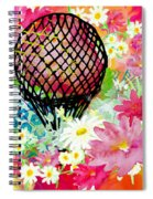 Whimsical Musing High In The Air Spiral Notebook