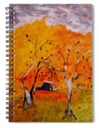 Whimsical Wind Spiral Notebook