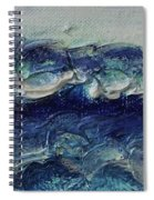Whipped Cream Waves Spiral Notebook
