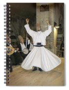Whirling Dervish Spiral Notebook