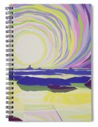 Whirling Sunrise - La Rocque Spiral Notebook