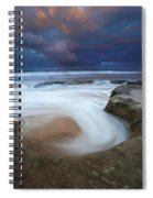 Whirlpool Dawn Spiral Notebook