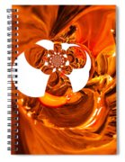 Whirls Abstract Spiral Notebook