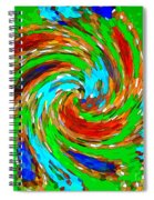 Whirlwind - Abstract Art Spiral Notebook