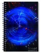 Whirlwind Of History. When Time Machine Is In Action Spiral Notebook