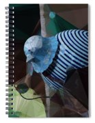 Whirly Bird Spiral Notebook